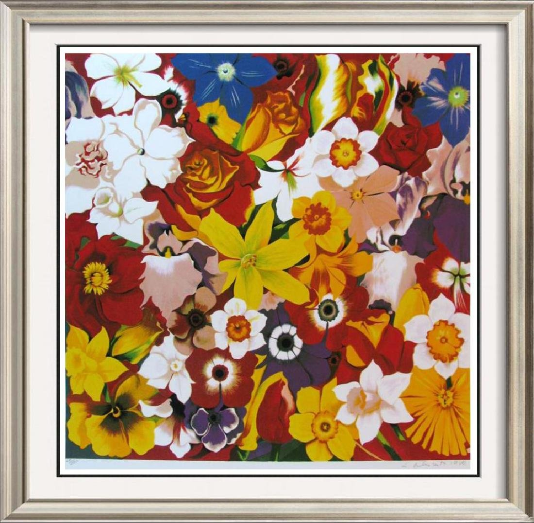 Colorful Lowell Nesbitt Signed Ltd Ed Serigraph