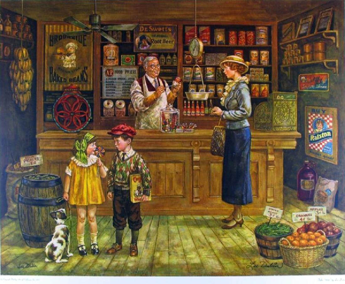 Grocery Store Fantastic Nostalgia 1930'S Style Art L Td