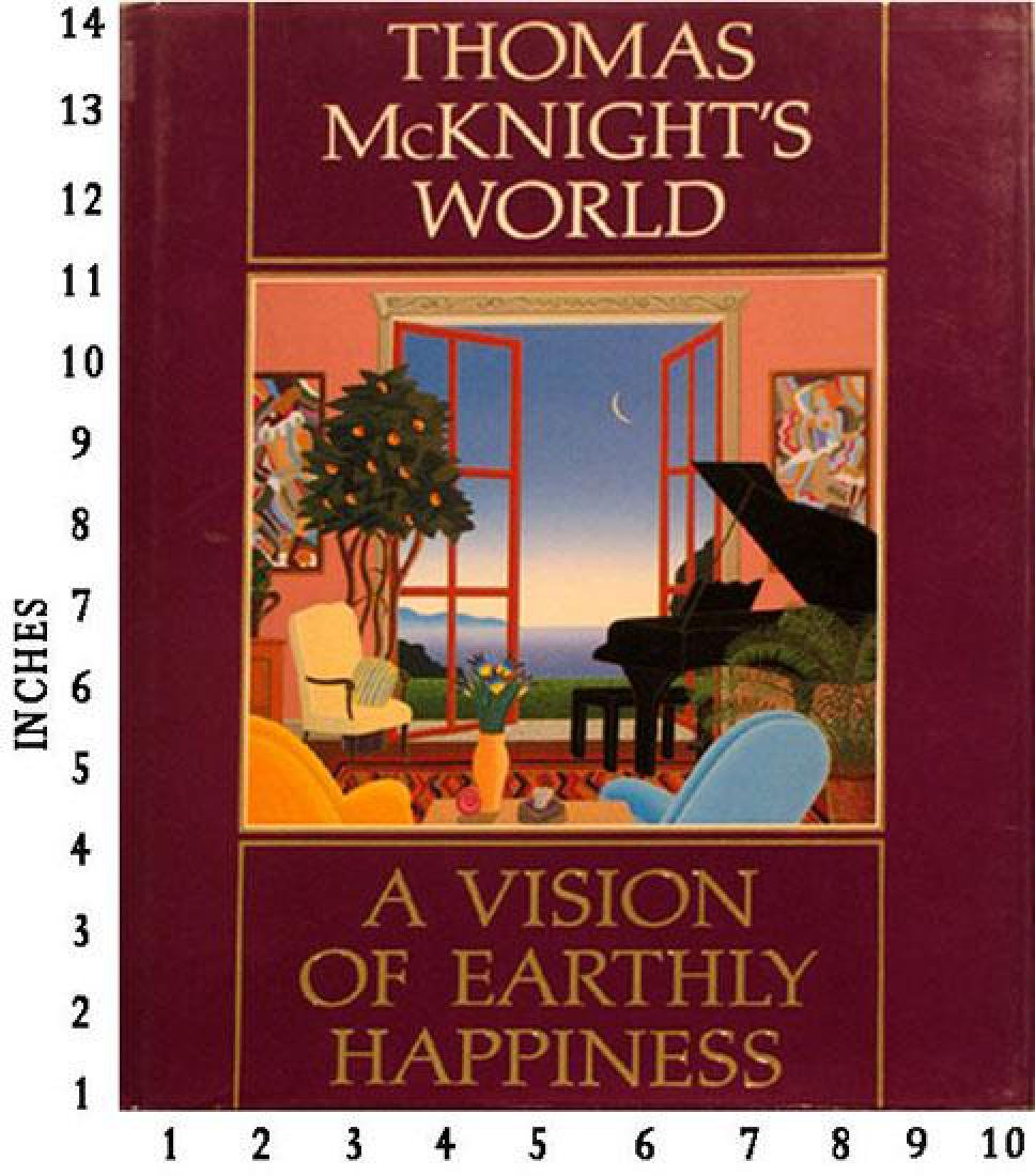 Art Book Liquidation Sale Thomas Mcknights World - A