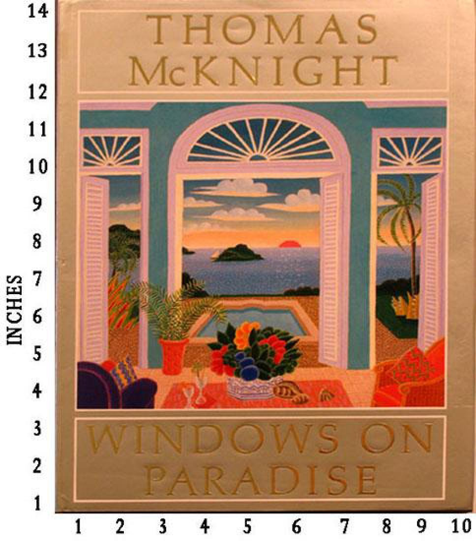 Museum Art Books Thomas Mcknight Window On Paradise