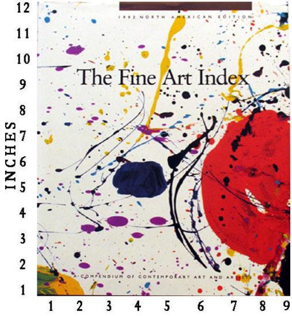Art Book Liquidation Sale The Fine Art Index 1992
