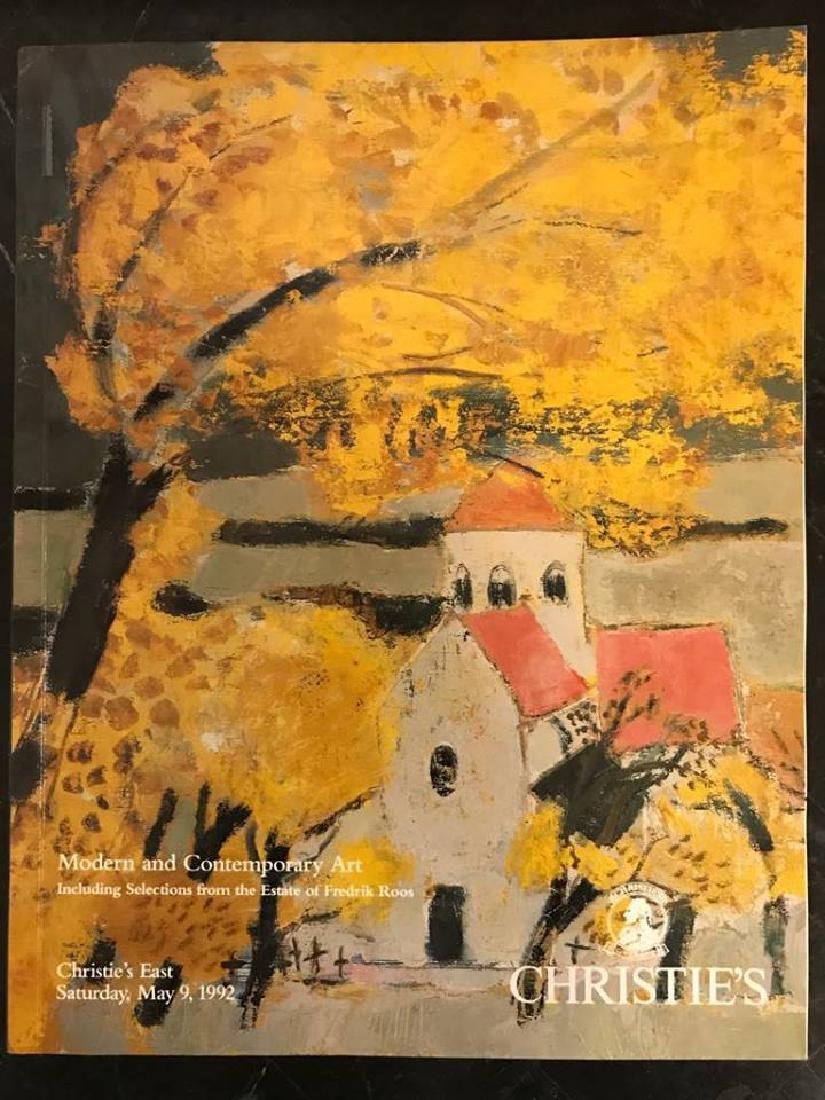 "Christie's ""Modern & Contemporary Art"""