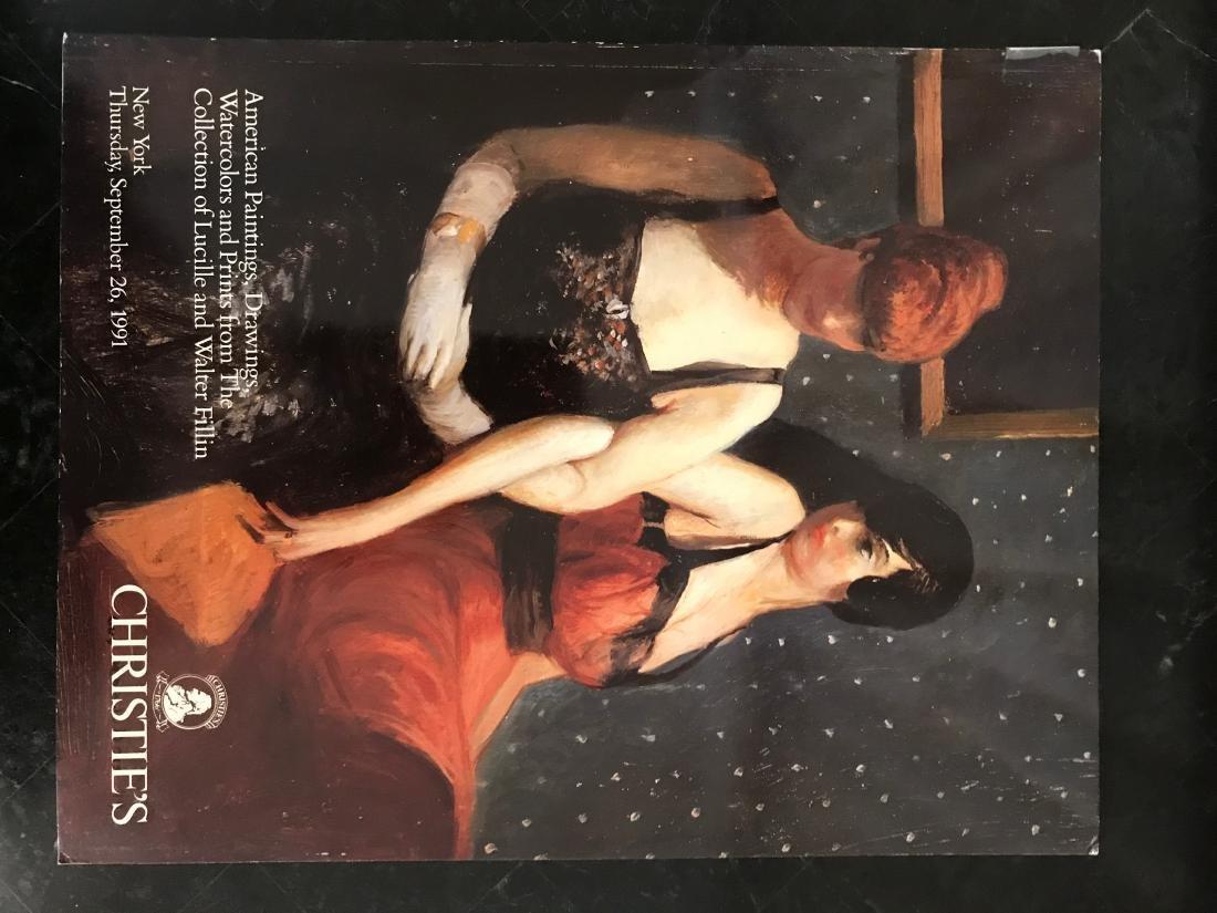"""Christie's """"American Paintings, Drawings, Watercolors &"""