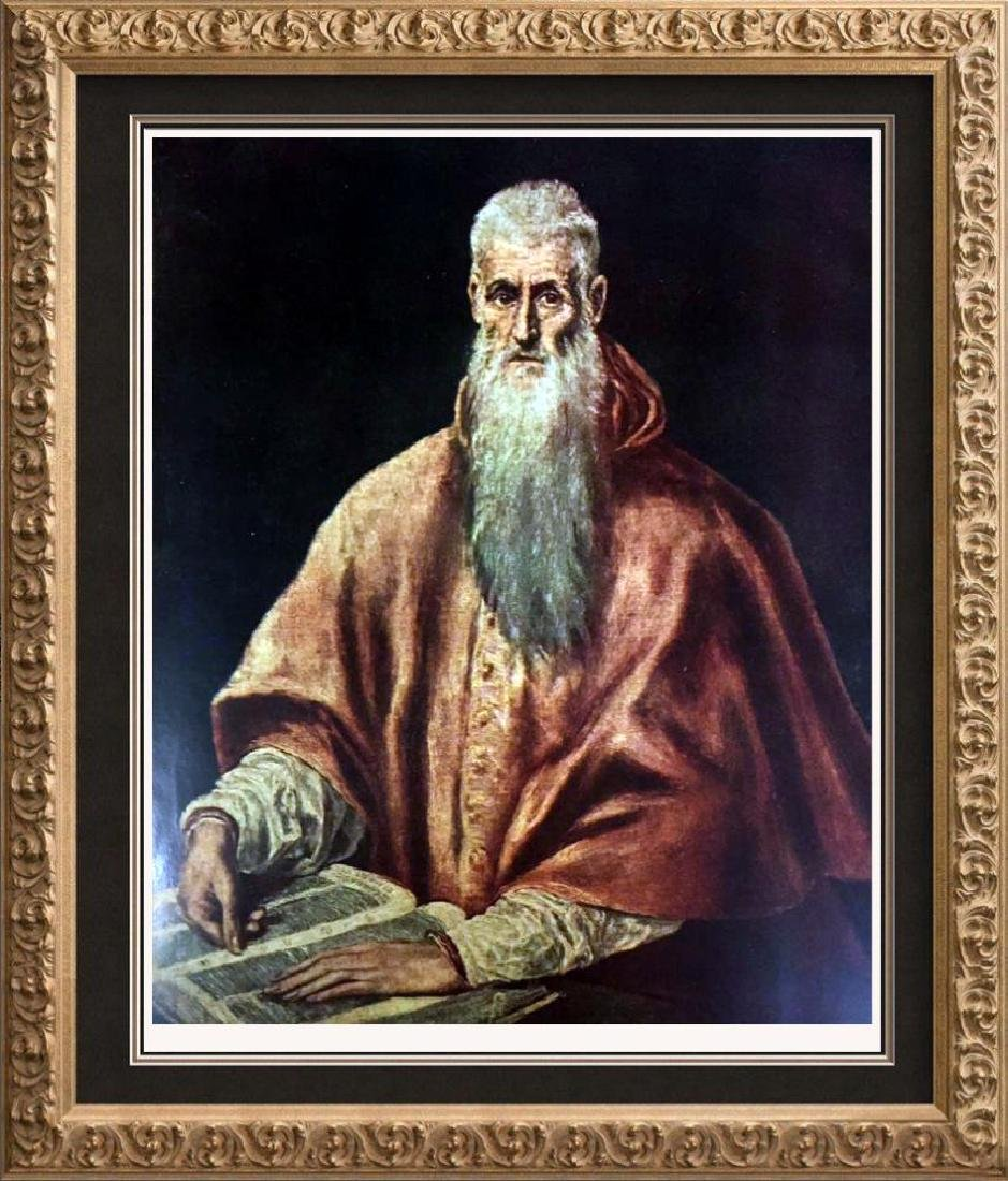 El Greco (Domenicos Theotocopolos) St. Jerome as a