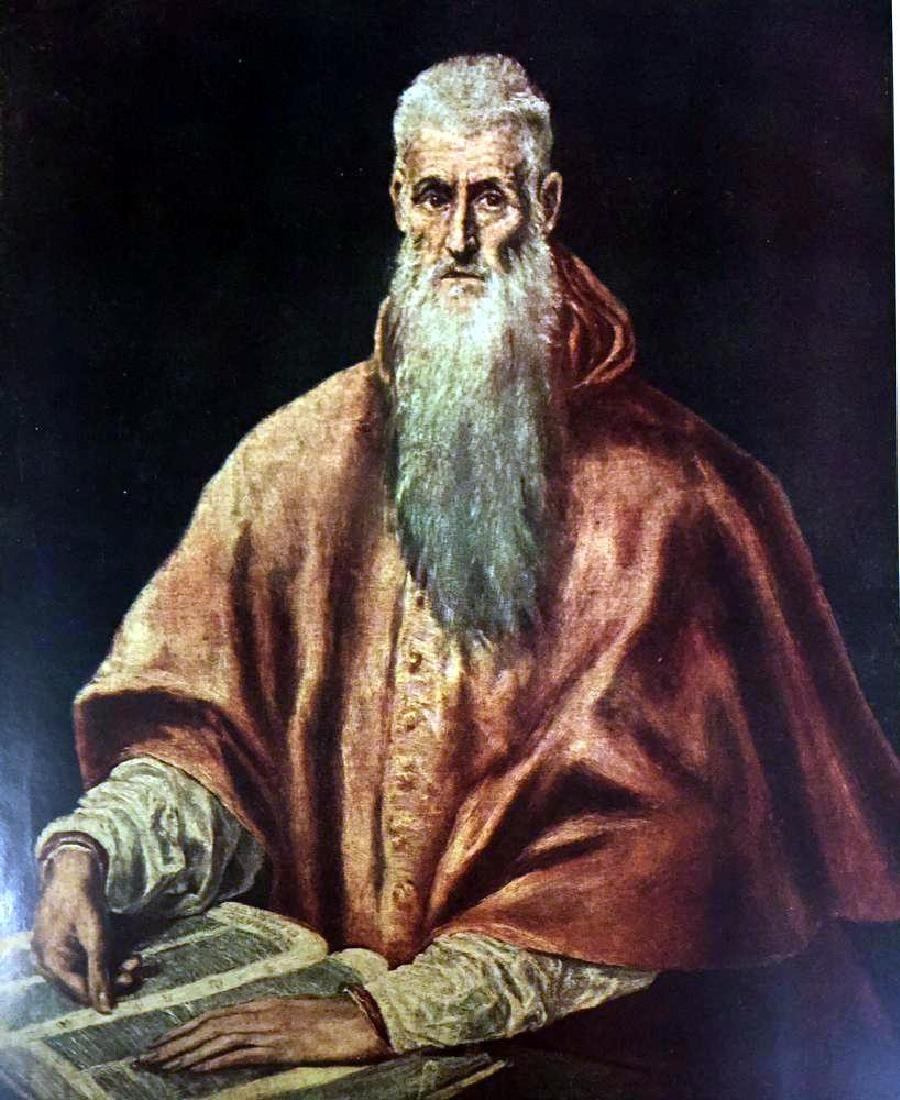 El Greco (Domenicos Theotocopolos) St. Jerome as a - 2