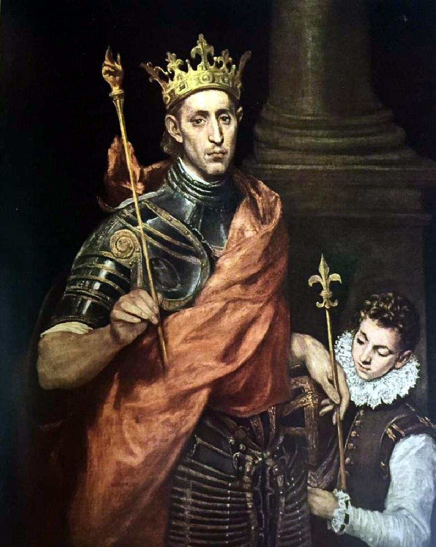 El Greco (Domenicos Theotocopolos) St. Louis, King of - 2