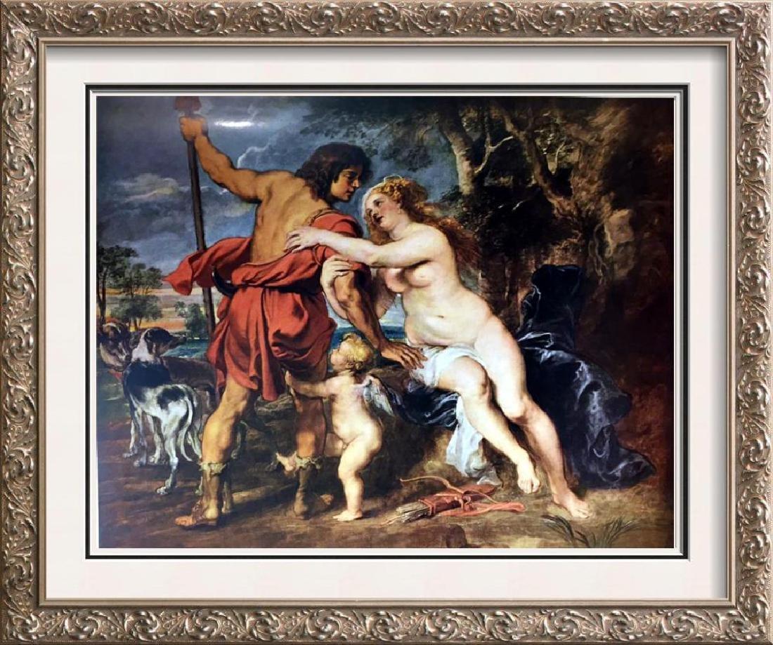 Peter Paul Rubens Venus and Adonis c.1635 Fine Art