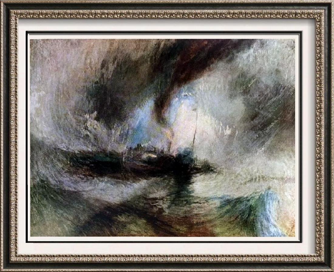 Masterpieces of British Painting by  J.M.W. Turner: