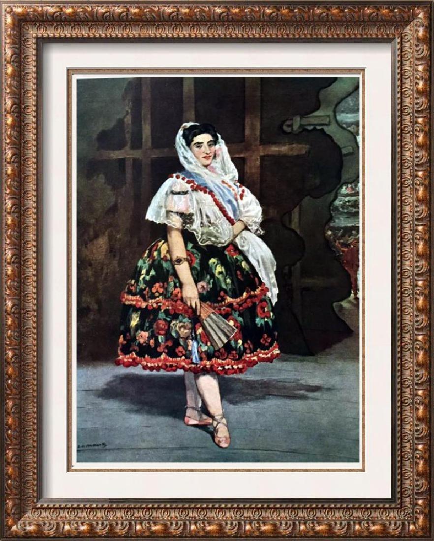 Manet Peintures Lola de Valence c.1862 Fine Art Print