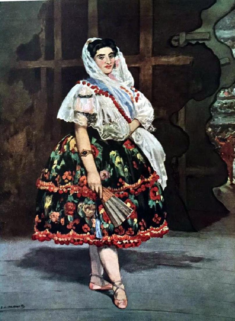 Manet Peintures Lola de Valence c.1862 Fine Art Print - 2