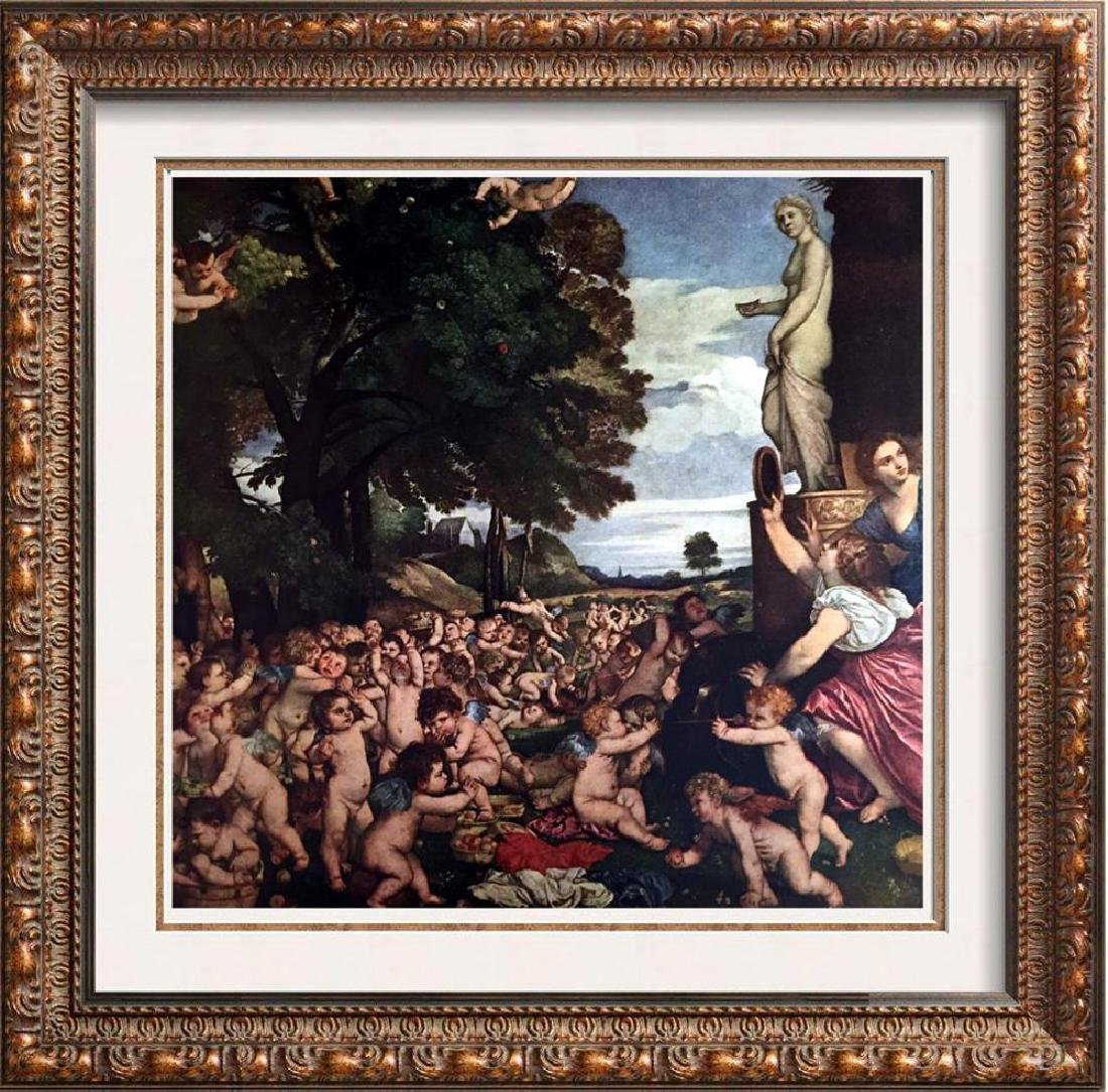 Tiziano Vecellio Titian The Worship of Venus c.1518