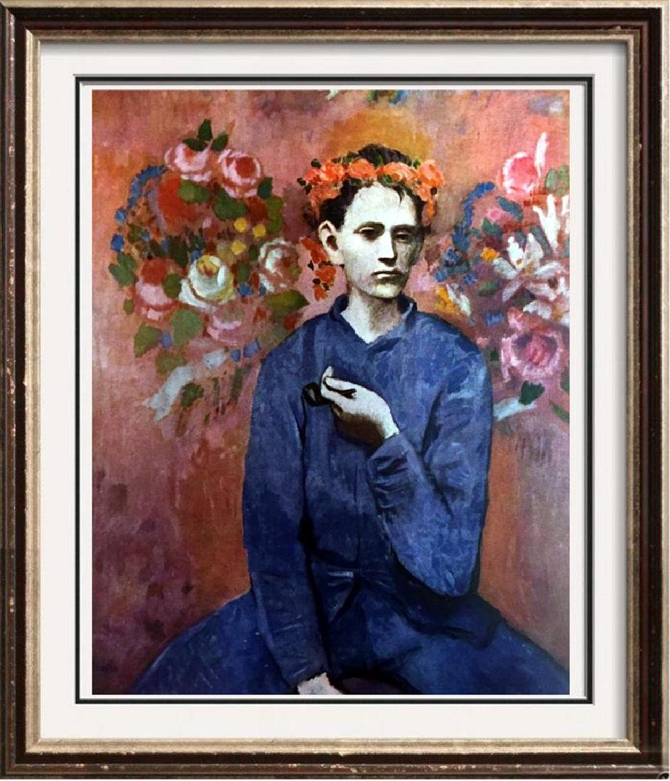 Pablo Picasso Boy with a Pipe c.1905 Fine Art Print