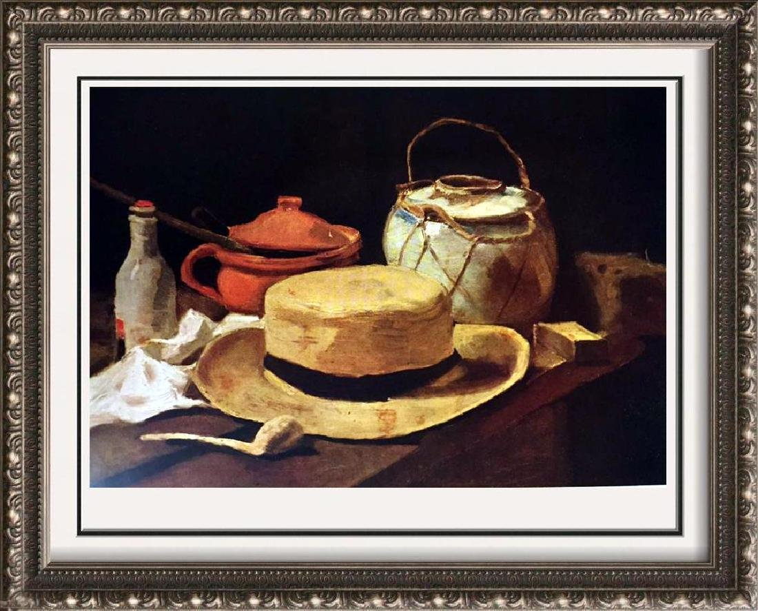 Vincent Van Gogh Still Life: Hat and Pipe c.1884 Fine