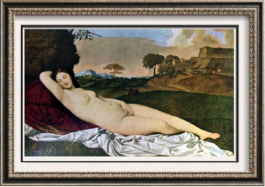 Great Paintings of the Nude Giorgione: Sleeping Venus