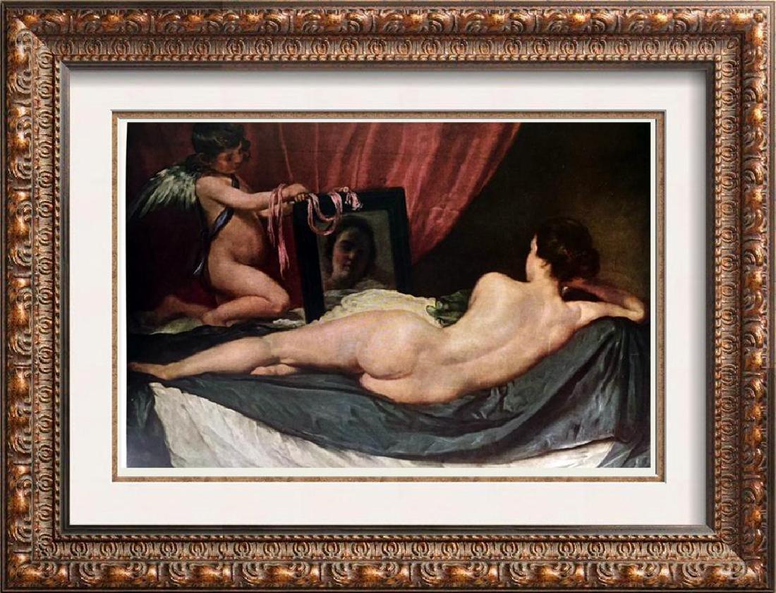 Diego Rodriguez Velazquez Venus with the Mirror c.1651