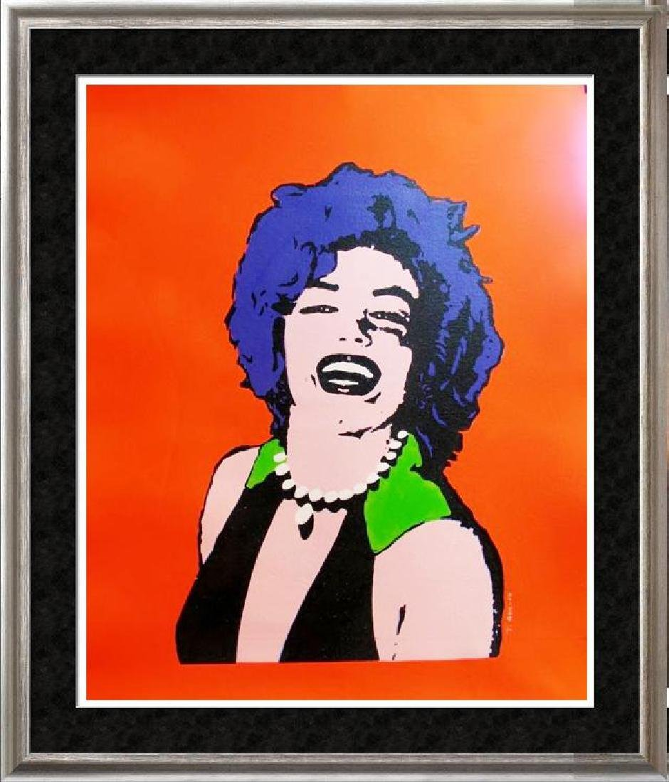 ONLY $100 ORIGINAL ARTWORK MARILYN MONROE WARHOL STYLE