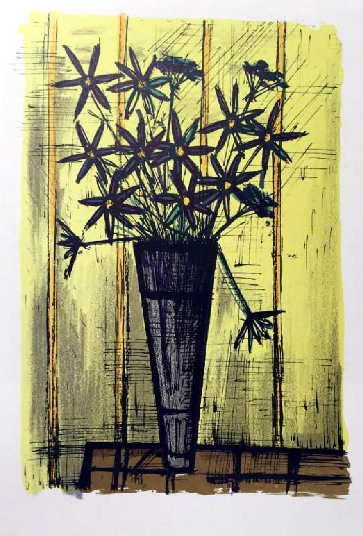 Bernard Buffet Bouquet of Flowers & Galerie Charpentier - 3