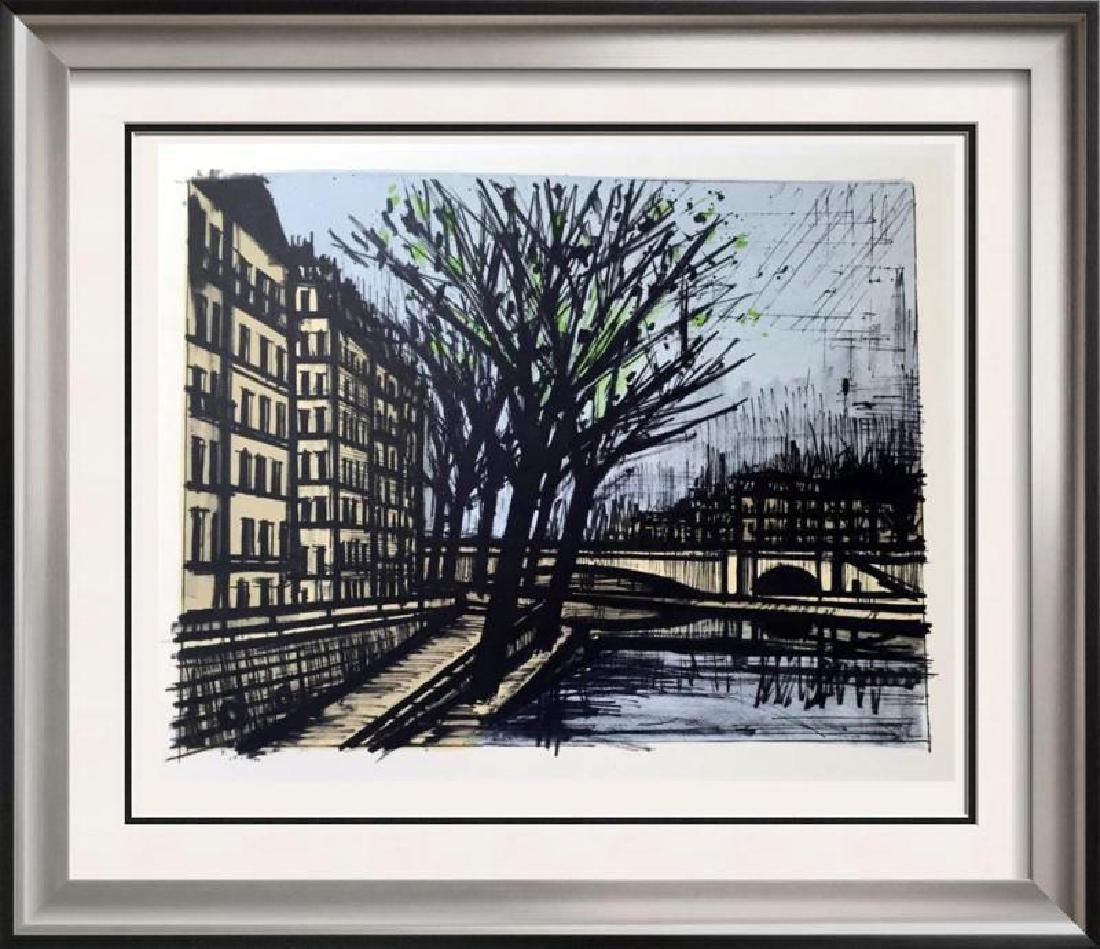 Bernard Buffet Paris Lile Saint-Louis Full Color Print,