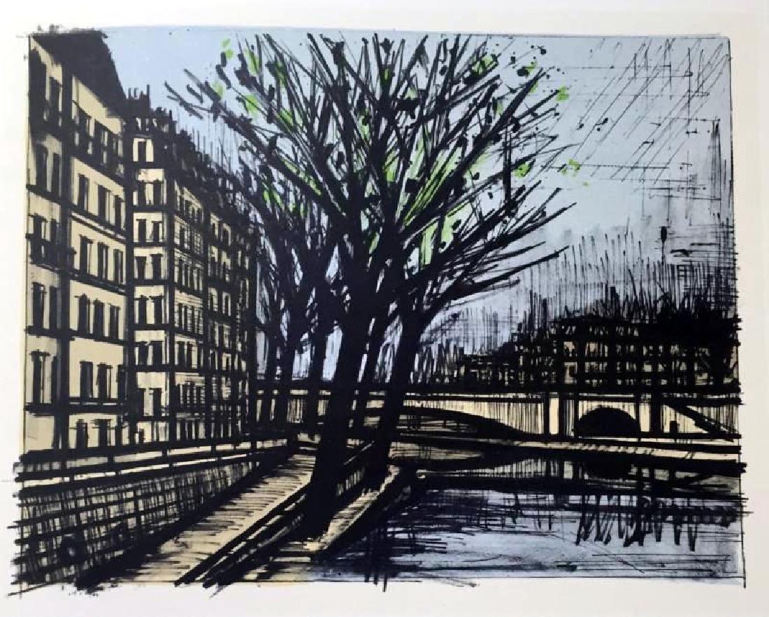 Bernard Buffet Paris Lile Saint-Louis Full Color Print, - 2