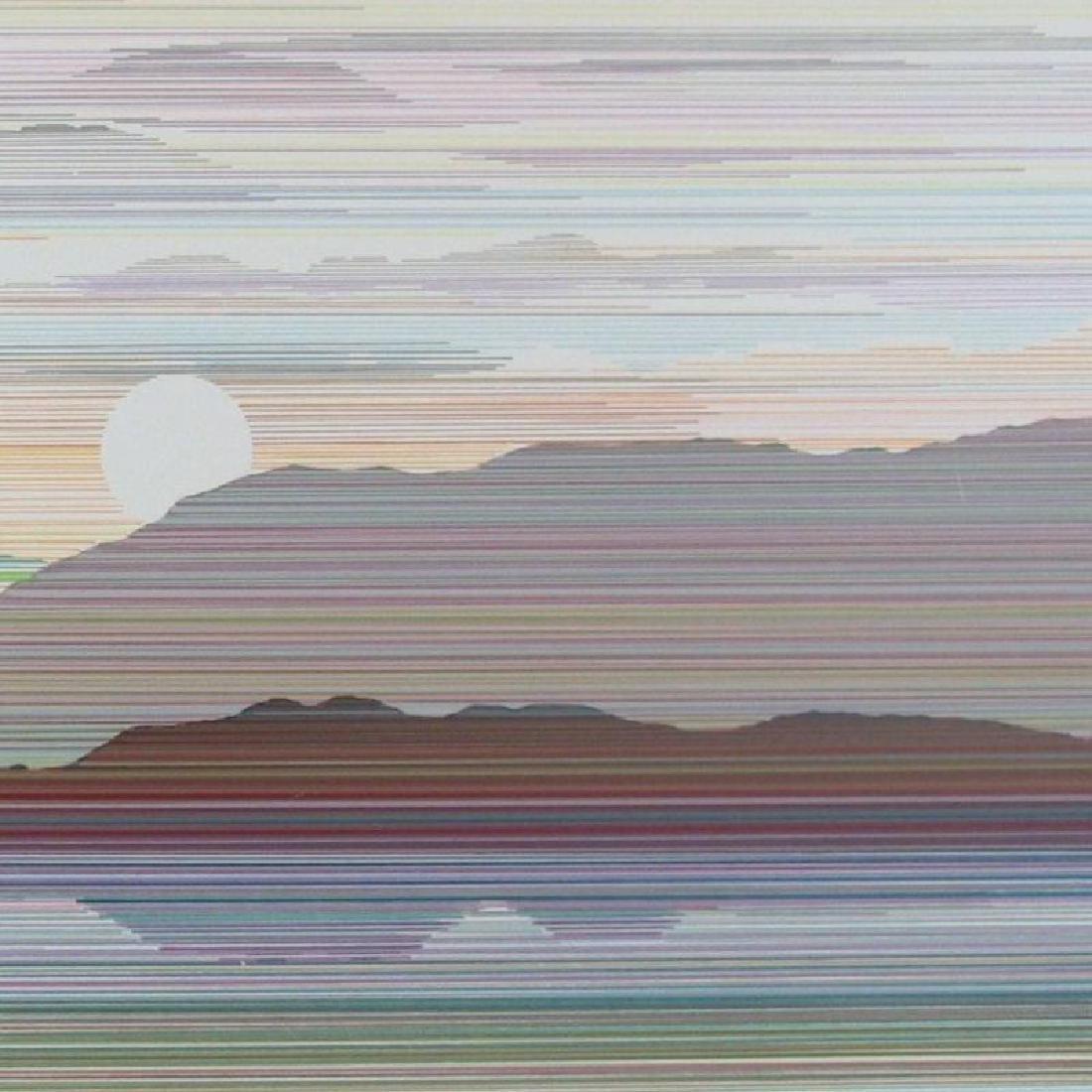 Reflection Linear Modern Abstract Art Dealer - 3