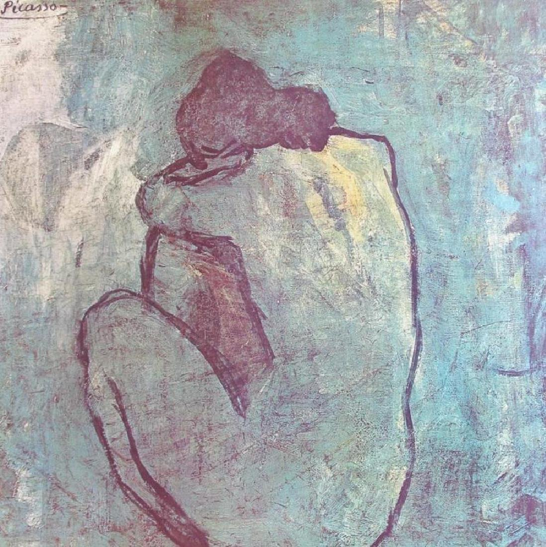 1983 Poster Picasso The Blue Nude Seated 1902, Plate - 2