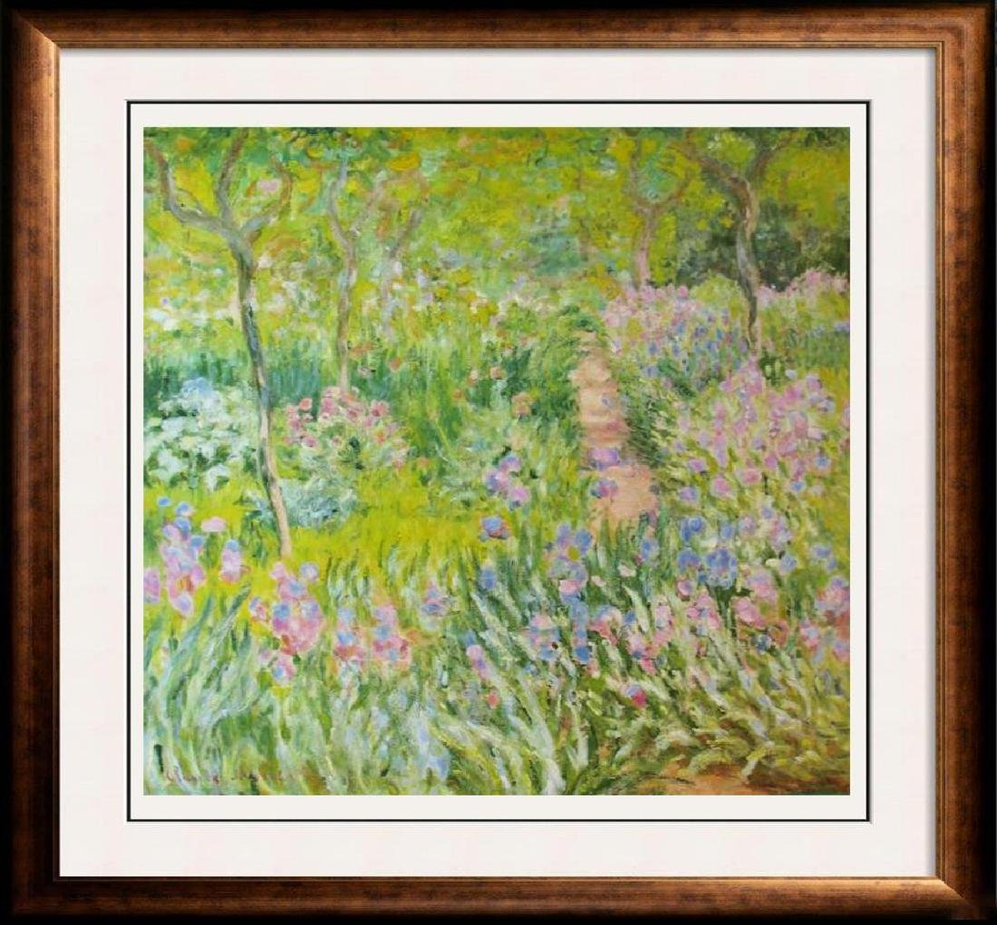 Claude Monet Artist Garden At Giverny