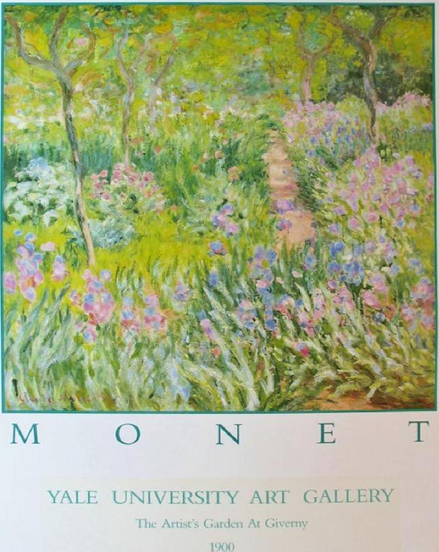 Claude Monet Artist Garden At Giverny - 2