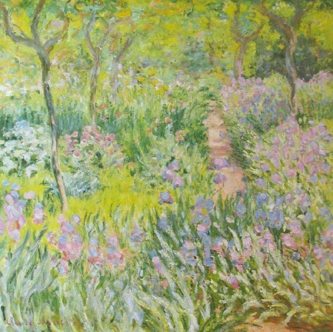 Claude Monet Artist Garden At Giverny - 3