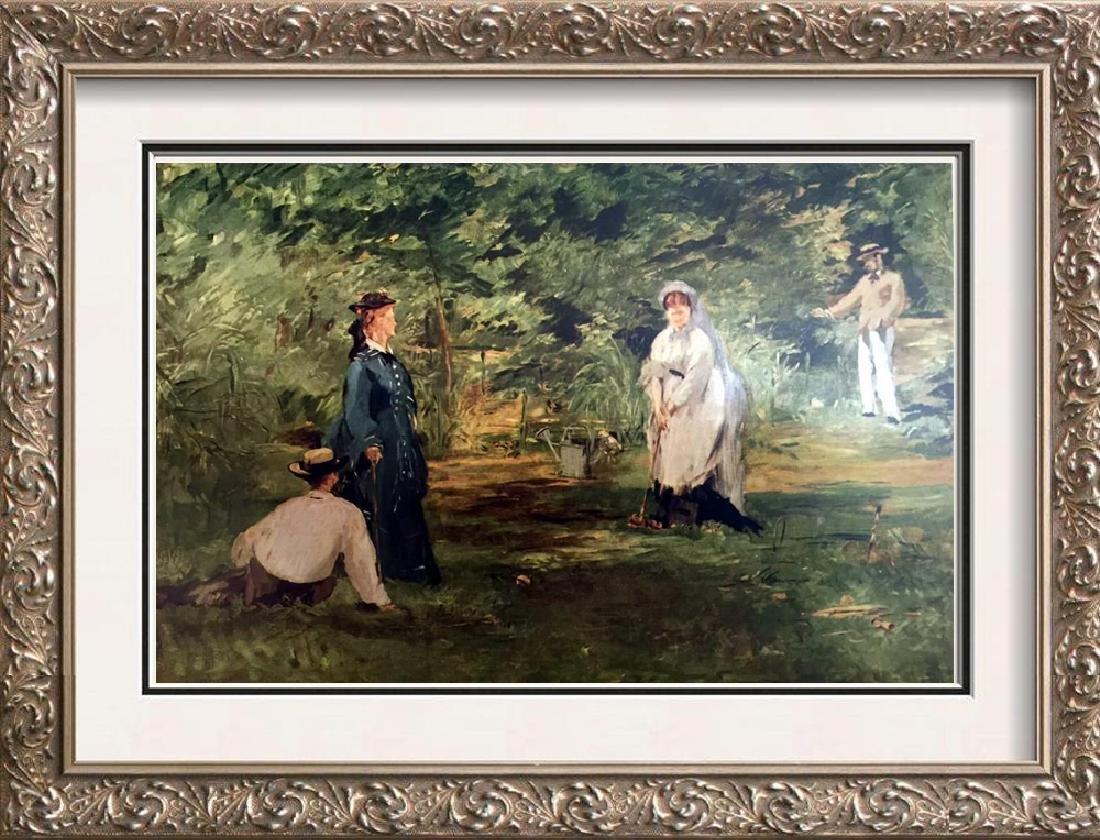Edouard Manet The Croquet Match c.1873 Fine Art Print