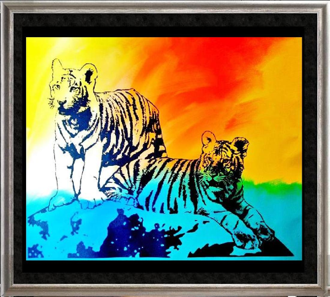 COLORFUL POP CANVAS ORIGINAL TIGERS MUST SEE