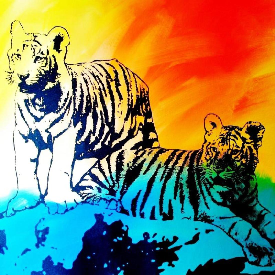 COLORFUL POP CANVAS ORIGINAL TIGERS MUST SEE - 3