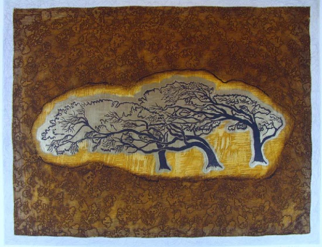 Signed Etching Abstract Ltd Ed Great Price - 2