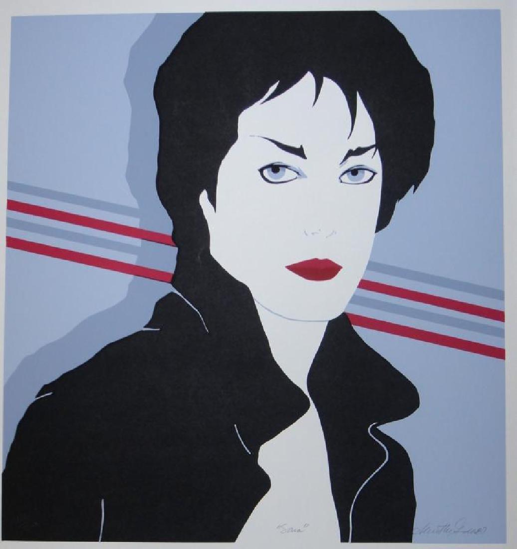 "Art Deco Nagel ""Style"" Signed Serigraph Art Sale"