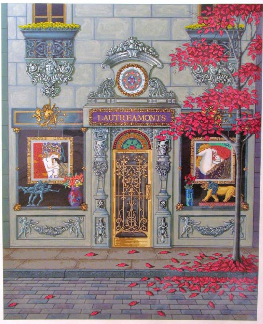 French Store Front Deco Ltd Edition Serigraph Estate - 2