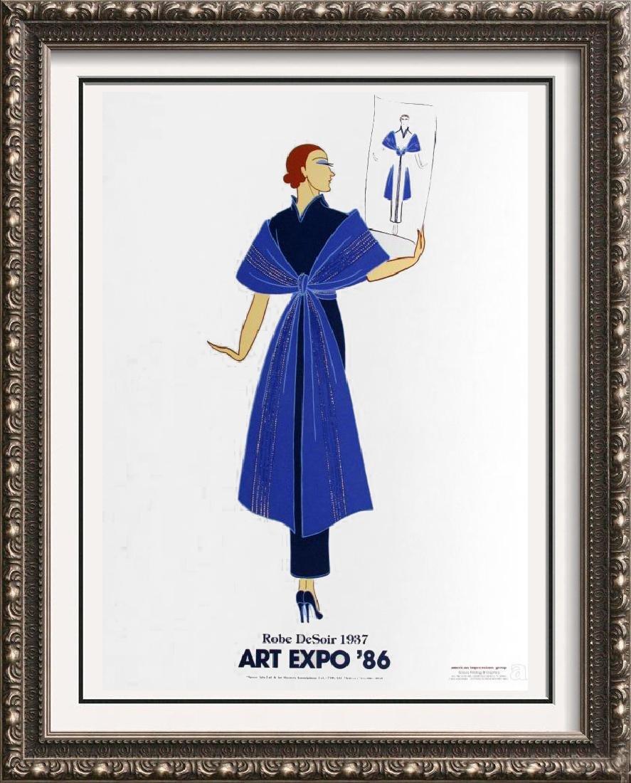 Erte Colored Litho Huge Sale Only $20 Art Deco