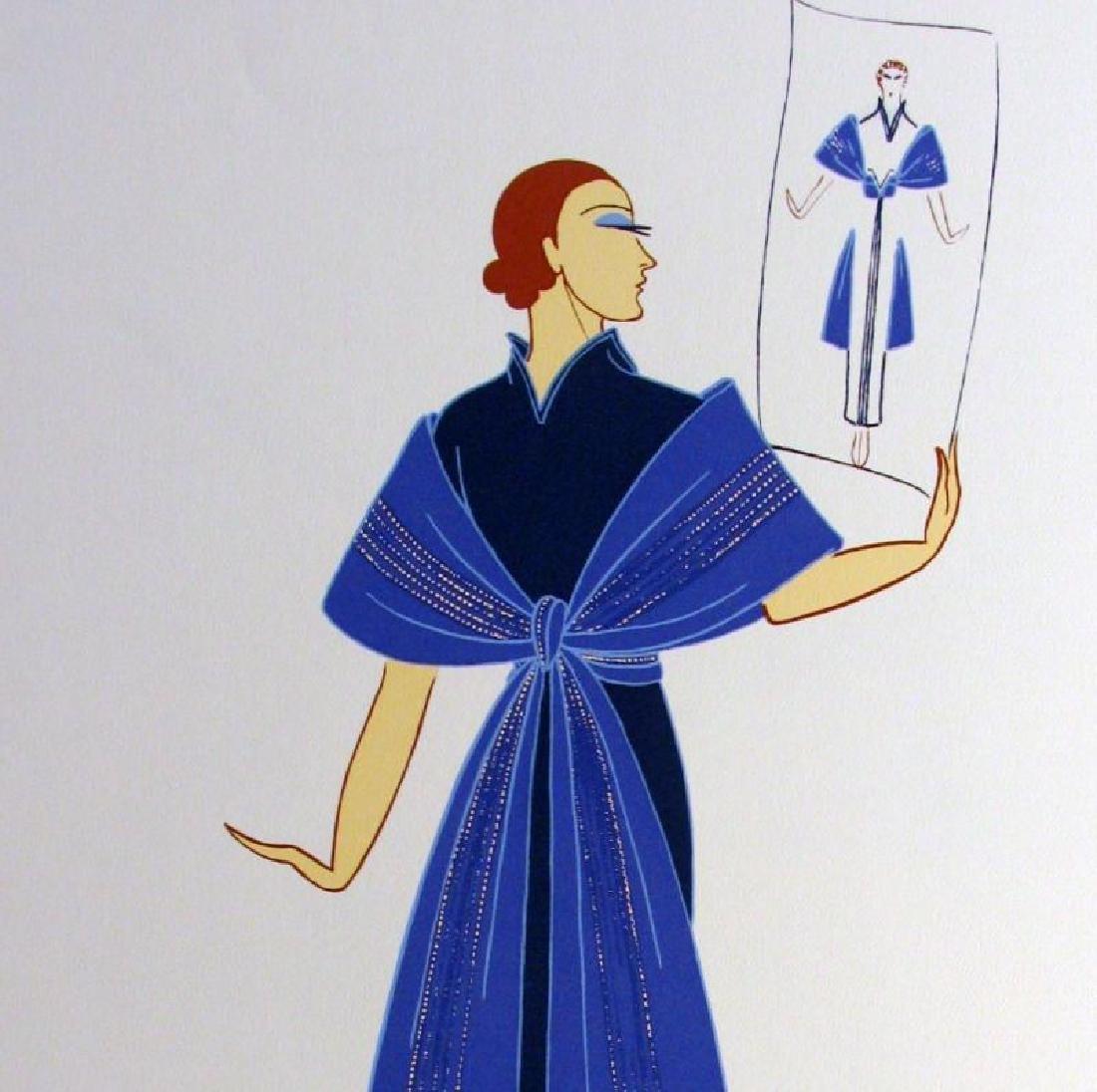 Erte Colored Litho Huge Sale Only $20 Art Deco - 2