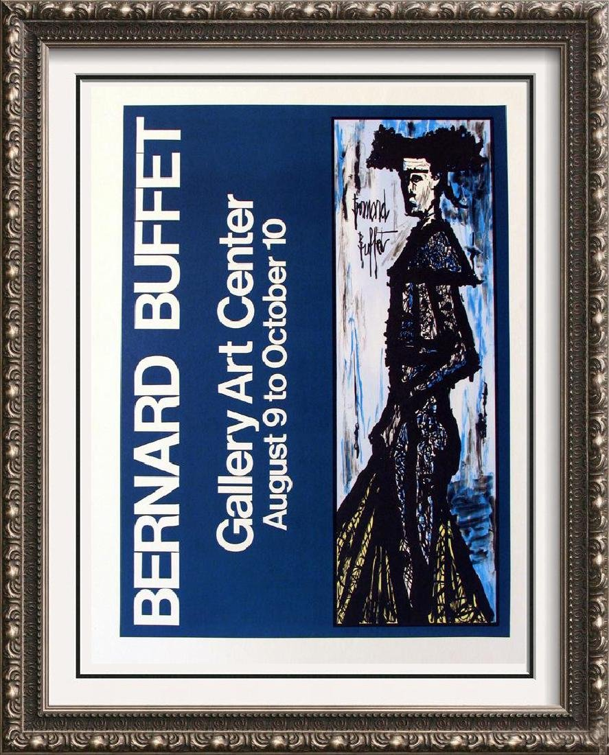 Bernard Buffet Lithographic Poster Great Value!!