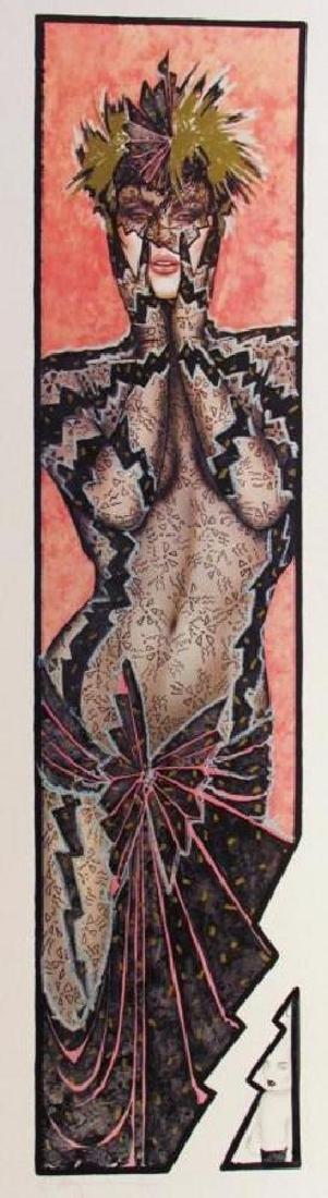 Playboy Edition Olivia Rare Litho Hand Signed Sale - 2