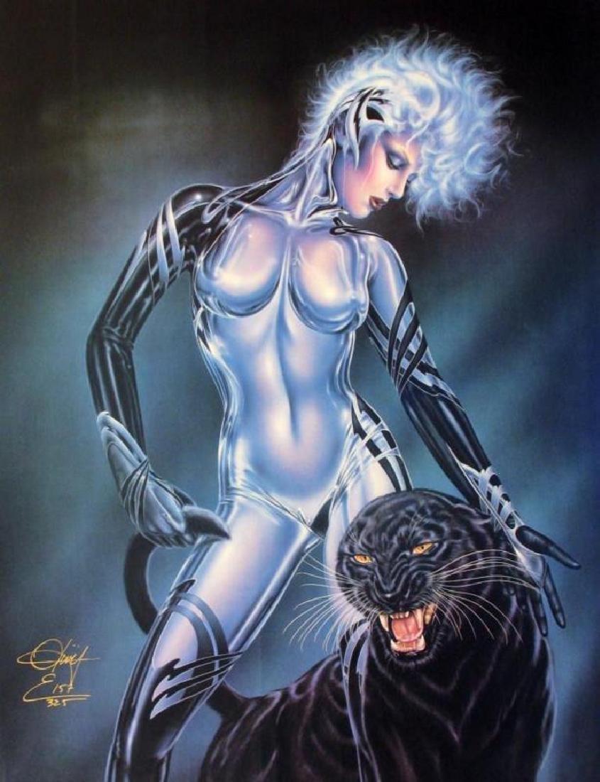 Panther Le Femme Feline Olivia Signed Ltd Ed Dealer - 2