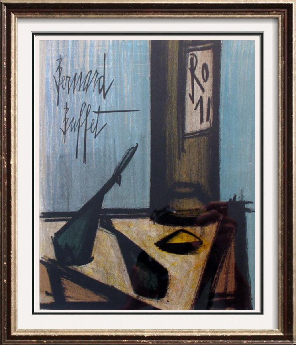 Buffet Original Colored Lithograph Signed Sale