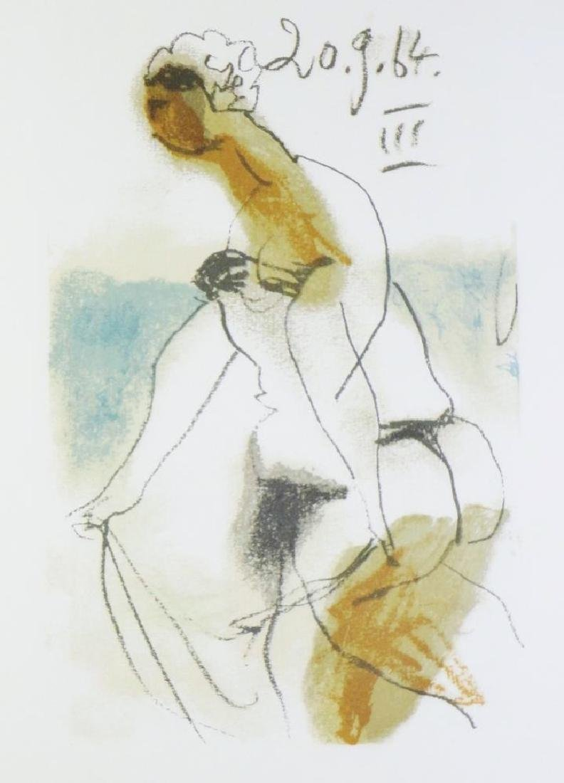 COLORED PICASSO EROTIC LIMITED EDITION HAND NUMBERED - 3