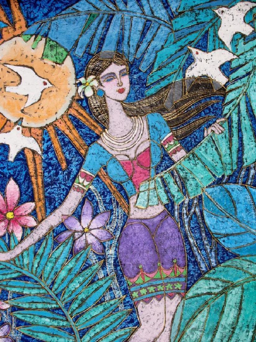 Asian Colorful Art Original Stone ORIG Student TING - 5