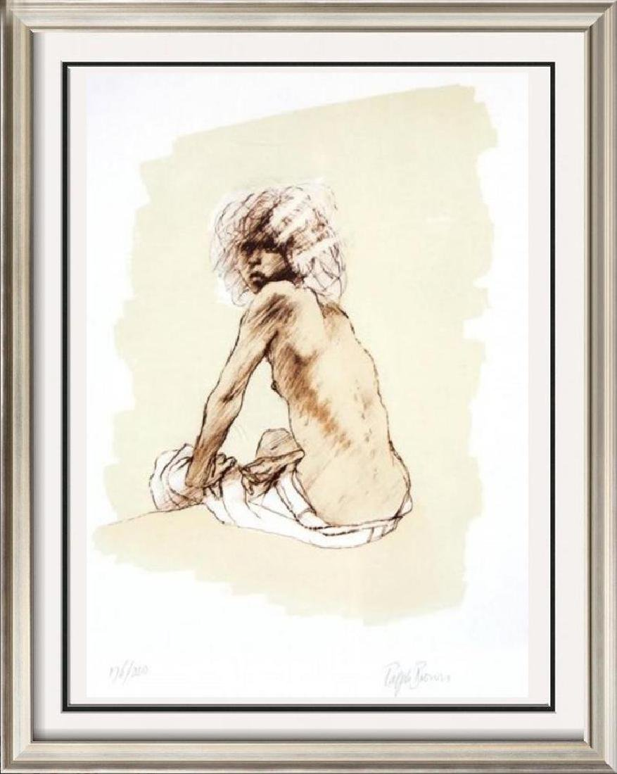 Nude Figure Drawing Limited Edition Signed Dealer Sale