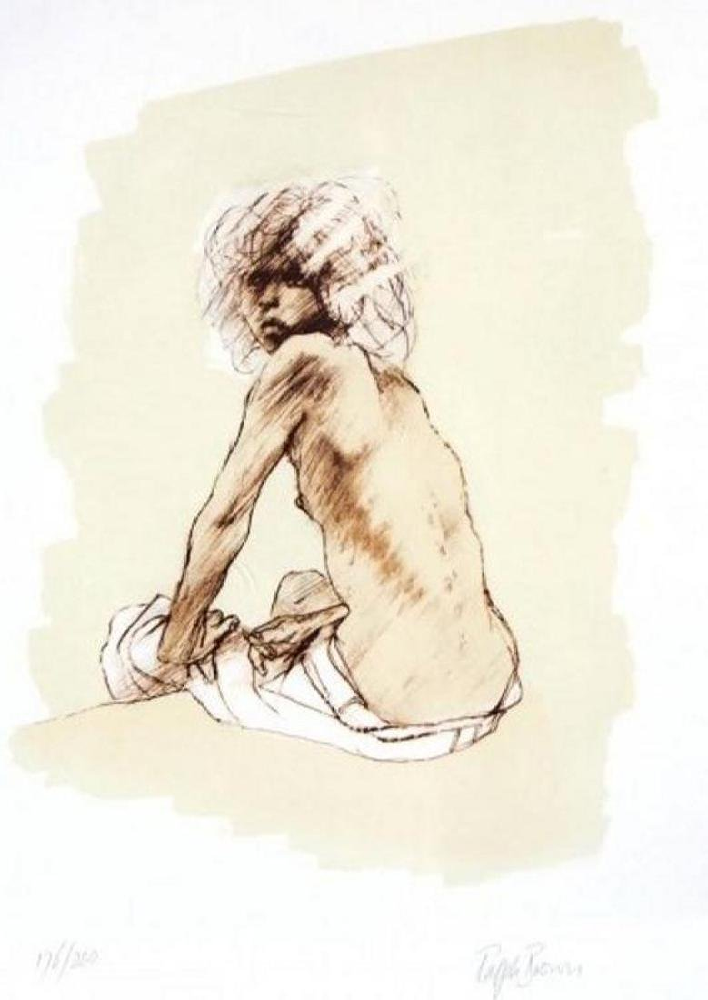 Nude Figure Drawing Limited Edition Signed Dealer Sale - 2