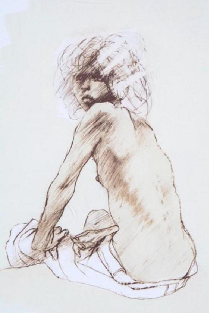 Nude Figure Drawing Limited Edition Signed Dealer Sale - 4