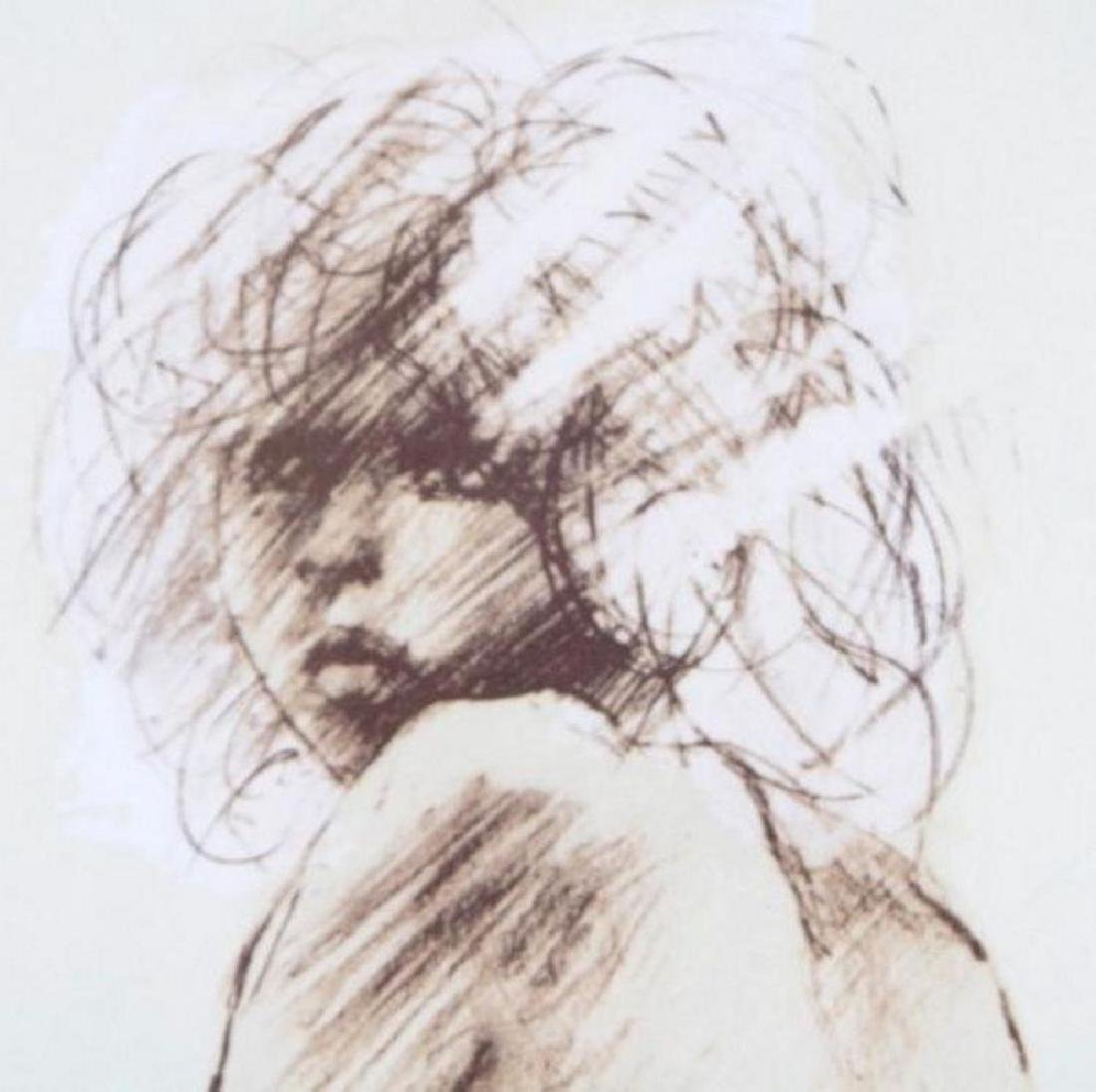 Nude Figure Drawing Limited Edition Signed Dealer Sale - 5