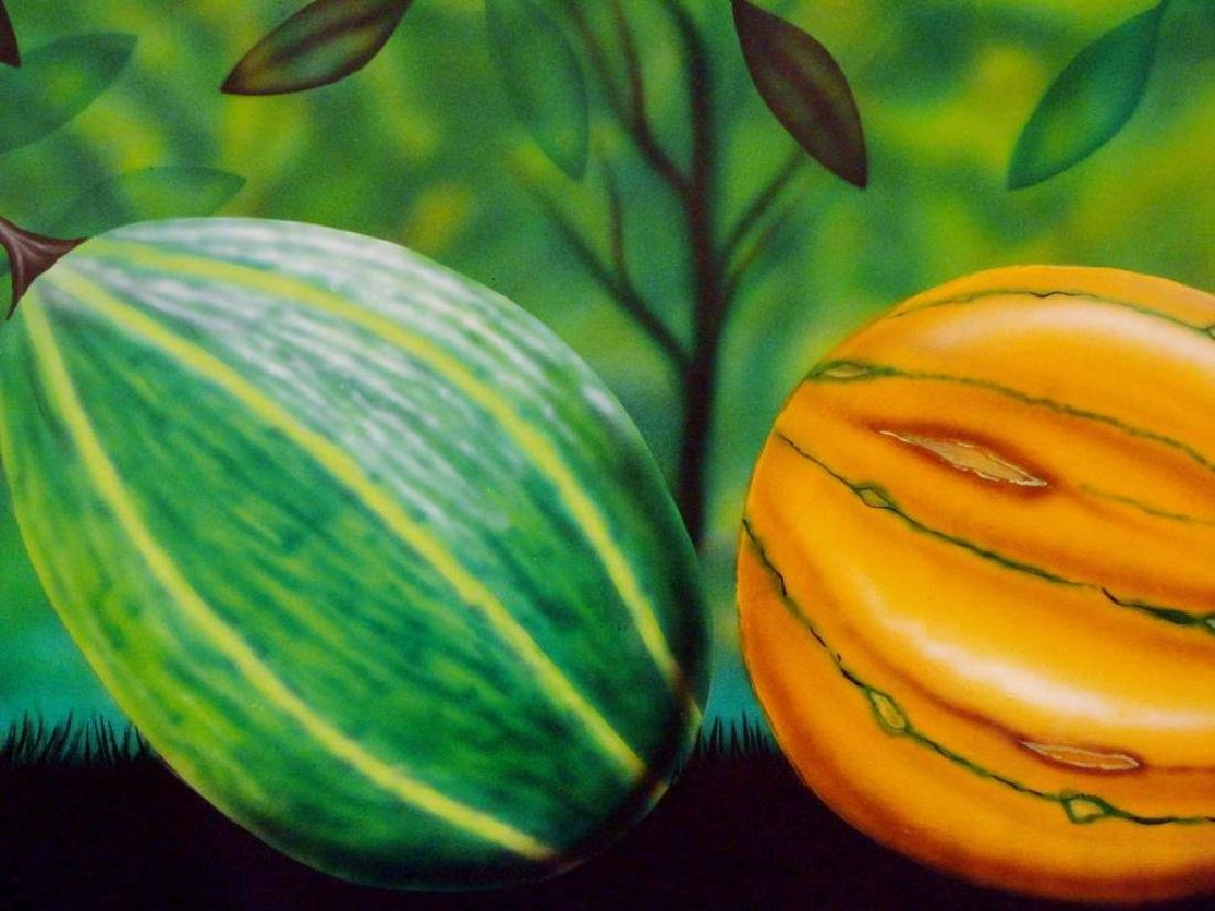 Latin American Art Fernando Montoya Realism Vegetables - 4