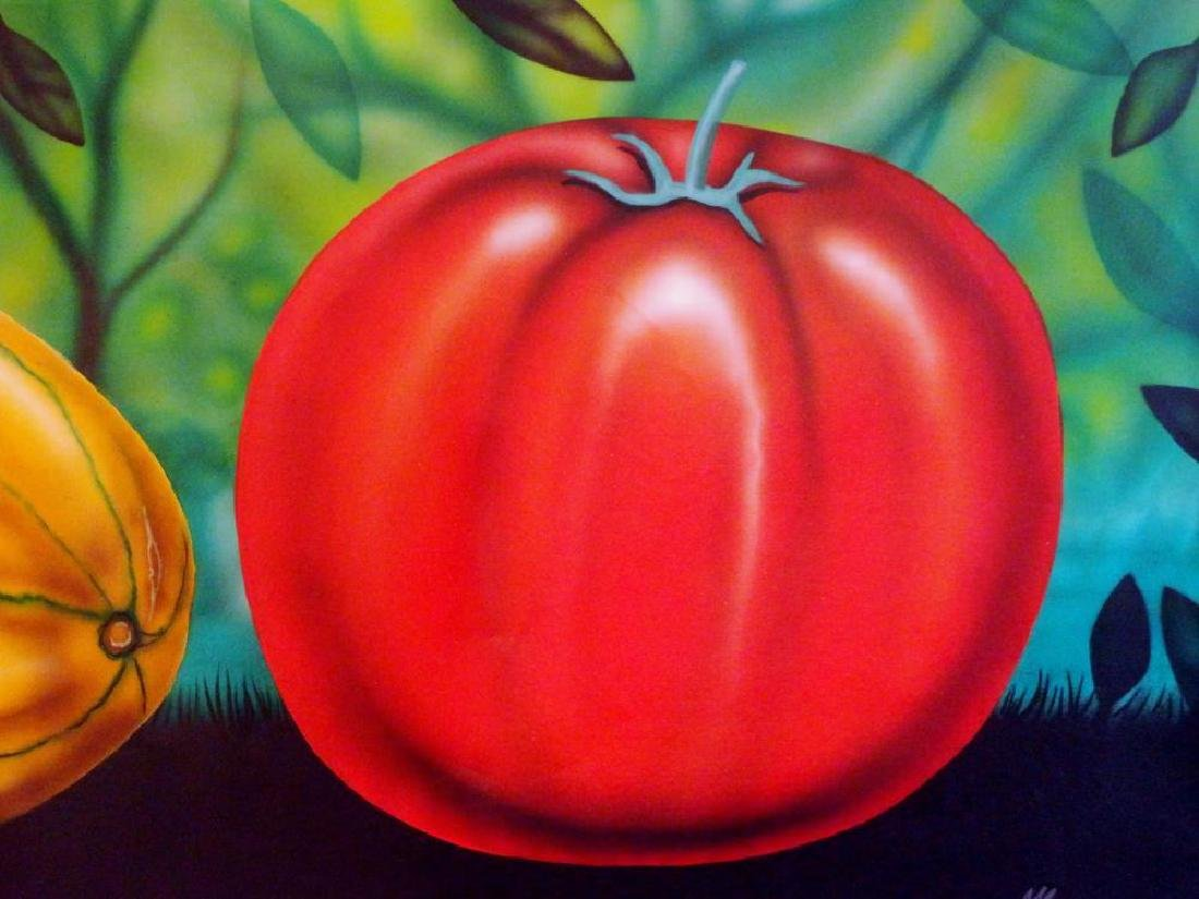 Latin American Art Fernando Montoya Realism Vegetables - 6