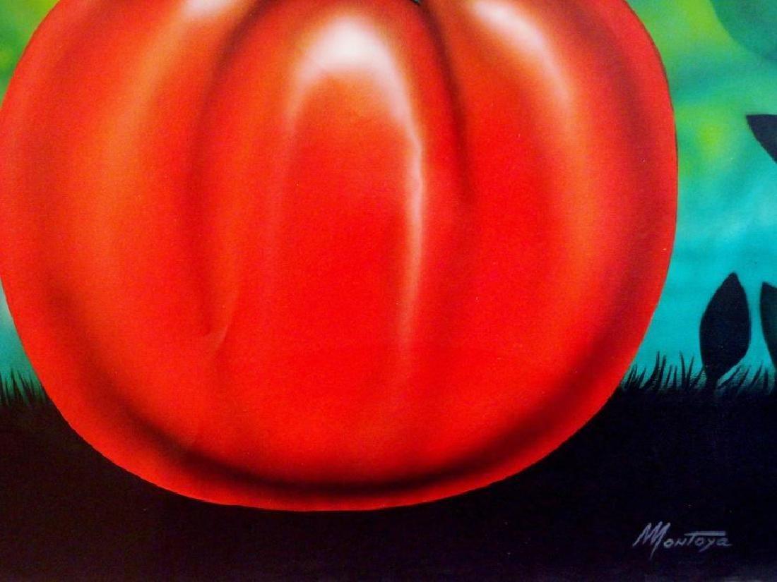 Latin American Art Fernando Montoya Realism Vegetables - 7