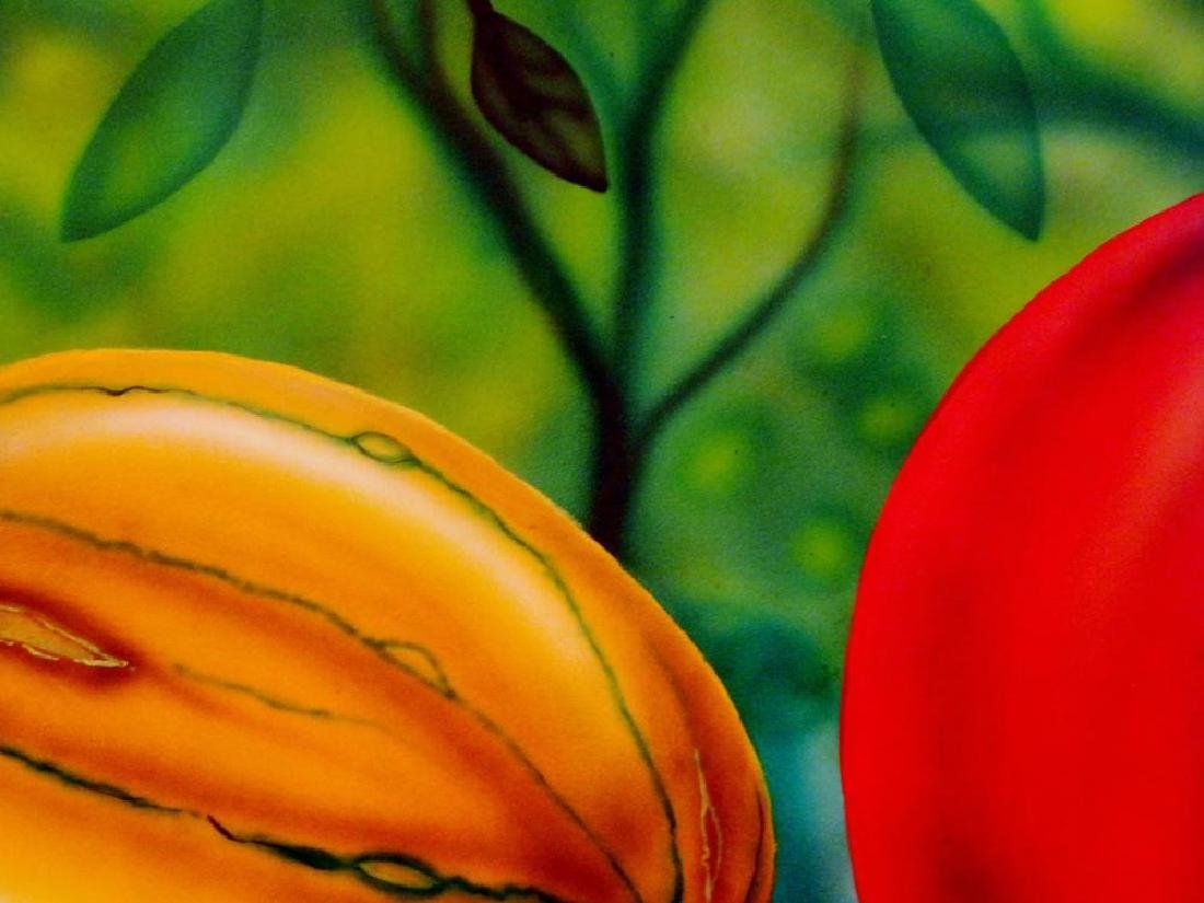 Latin American Art Fernando Montoya Realism Vegetables - 9